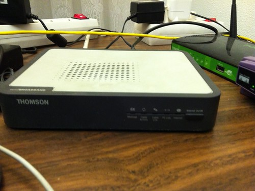 Mi cable-modem de Euskaltel que falla demasiado... ¿O no es su culpa?