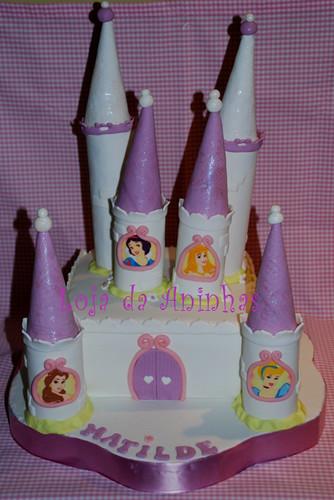 Bolo Castelo Princesas by Aninhas_lisboa