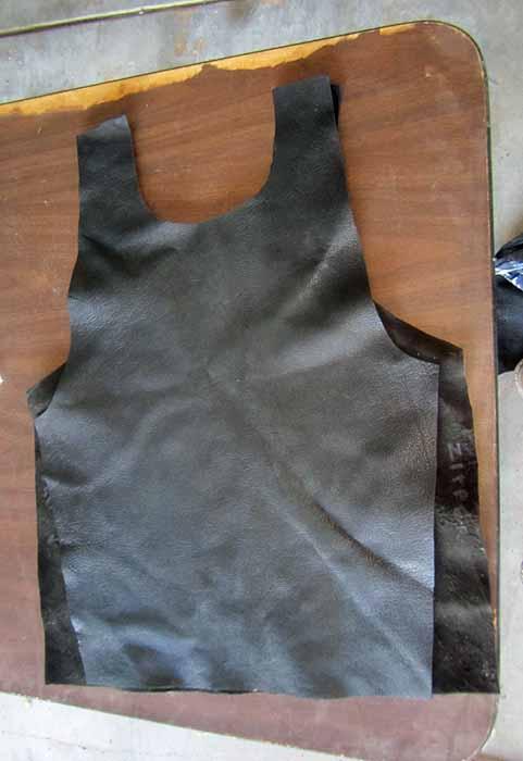 Isaac Clarke Vest Parts