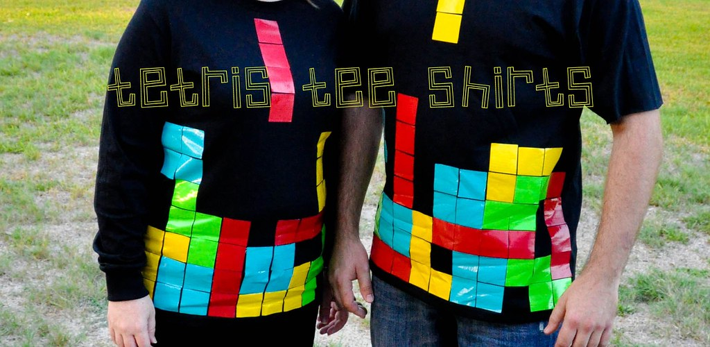 tetris costume t-shirt