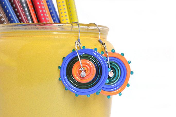 disc earring 1