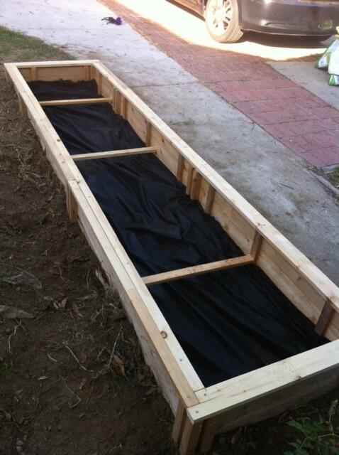 Vegebox - ready for dirt