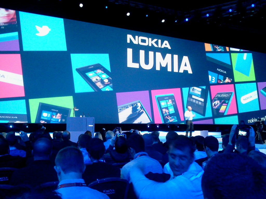Lumia announced