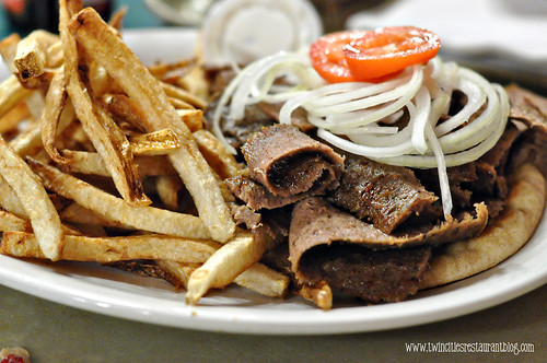 Gyro at Best Steak House ~ St Paul, MN