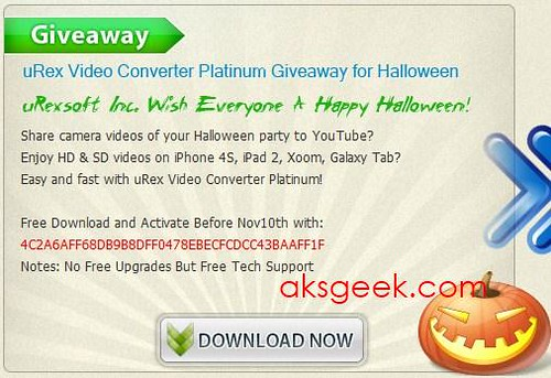 Halloween uRex Video Convertor platinum