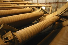 Hop Conveyor Belts (CM Sims) Tags: oregon machinery processing rogue hops farmmachinery hopfarm roguefarms