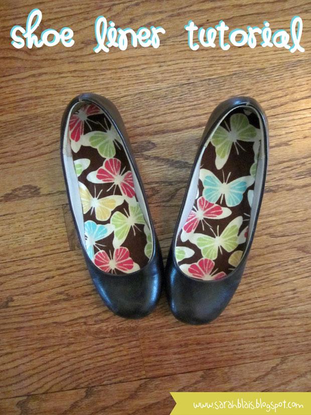 Shoe Liner Tutorial