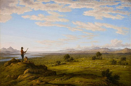 John Glover's painting (early Australian painting)