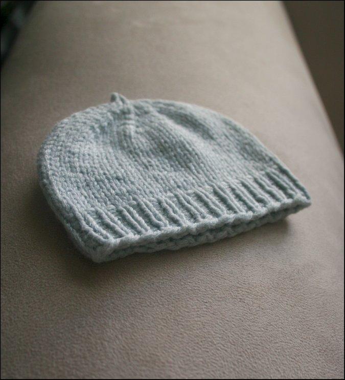 Never Not Knitting: Hospital Hat
