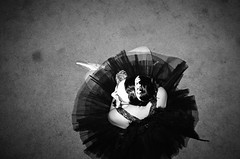 Mary -- Alameda, CA (kzamani) Tags: white black monochrome contrast swan ballerina ricohgr1v kodaktmy2