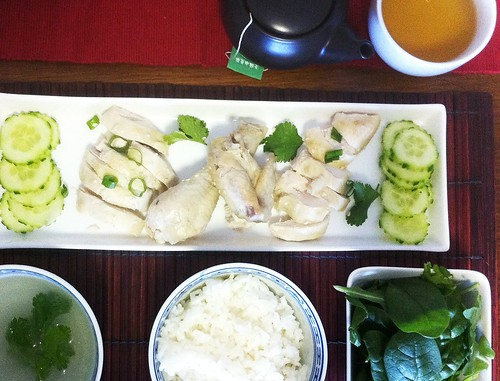 Hainanese Chicken with Ginger rice by mjd-s