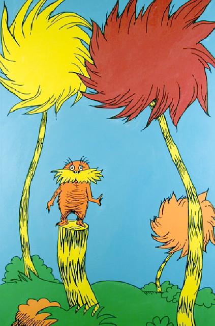 El Lorax del Dr. Seuss