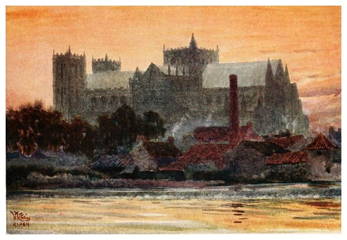 017- Ripon- Cathedral cities of England 1908- William Wiehe Collins