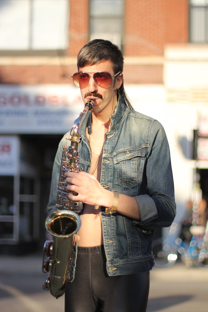 Saxophone guy