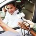 Rahul Gandhi chats with media in Varanasi