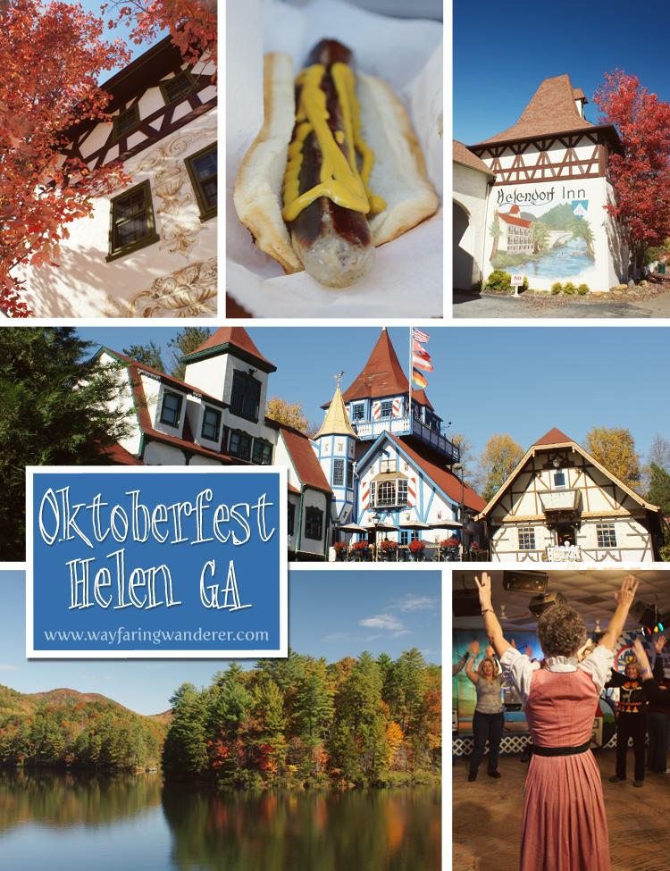 Celebrating Oktoberfest in Helen, GA
