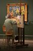 Mon Paris. (caramoul25) Tags: paris musée peinture oeuvre copiste orangeraie