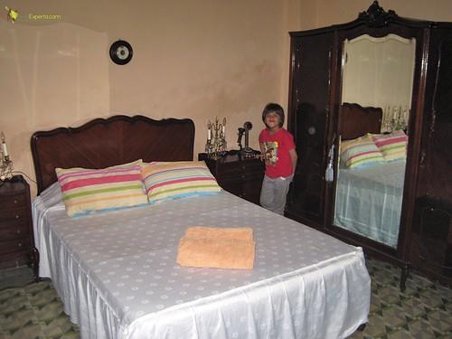 master bedroom - casa particular - havana centro cuba