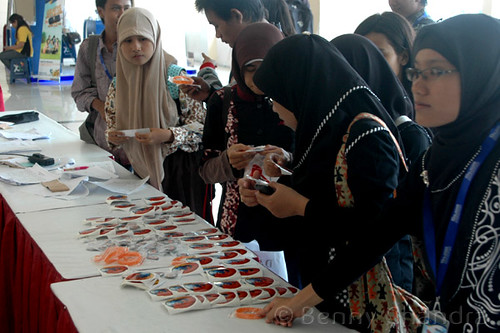 Mozilla Swag @ Blogger Nusantara 2011