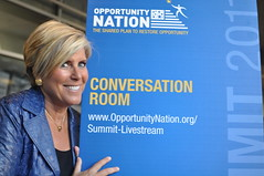 Suze Orman at the Opportunity Nation Summit