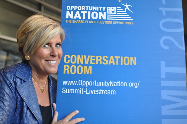 Suze Orman at Opportunity Nation