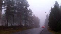 Farväl / Farewell (TinaOo) Tags: cars fog dimma backlights bilar disapearing bakljus försvinner farval fotosondag fs111106