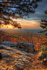 Shenandoah Day's End  ~Explore~ (Tom Lussier Photography) Tags: sunset mountain tree clouds forest river landscape virginia nationalpark nikon bravo shenandoah tomlussier tpslandscape