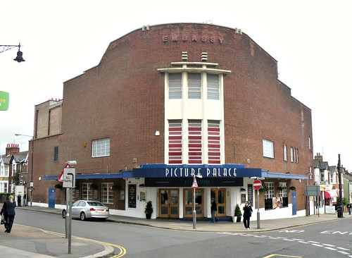 Former Braintree Cinema by day
