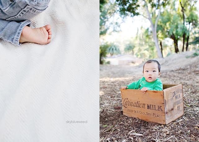 Foot and box