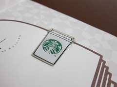 Starbucks Book Marker 1