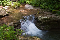 River near Kozjak fall (Alja Vidmar | ADesign Studio) Tags: longexposure green water river ndfilter kozjak d5000 nd8x