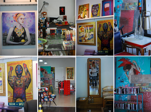 "The ""Cor"" Gallery - ""Cor"" Galeria de Arte by good mood factory"