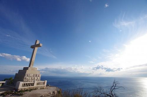 山の上からドブロブニク8