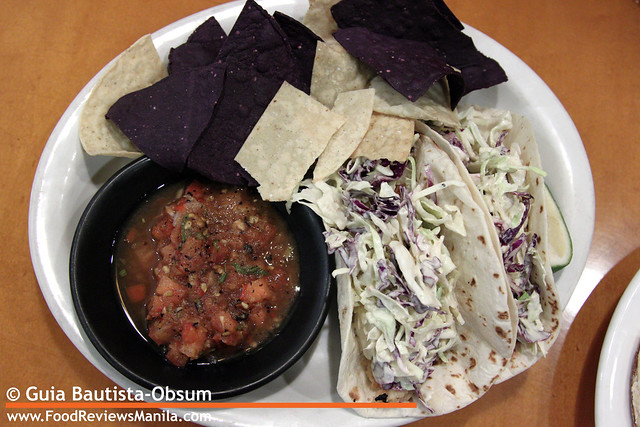 CPK Baja Fish Tacos