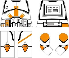 Commander Cody Decals (TigerEyeCustoms) Tags: star lego wars clone decals