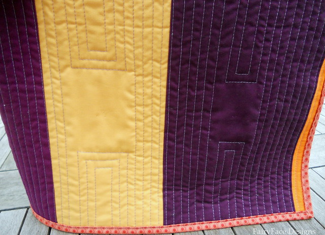 TR back quilting