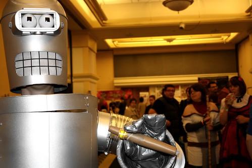 Bender at Hal-Con 2011 in Halifax, Nova Scotia