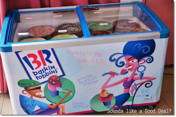 Baskin Robbins Ice Cream @ De Garden
