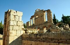 Anjar, Umayyad city, al-Walid I, 705-15, great palace (4) (Prof. Mortel) Tags: lebanon umayyad anjar