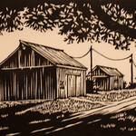 "<b>Down the Lane</b><br/> Moore ('72) (Woodcut)<a href=""//farm7.static.flickr.com/6056/6344838366_79fda6f671_o.jpg"" title=""High res"">∝</a>"