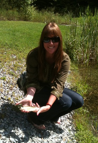 Jackie's First Fish