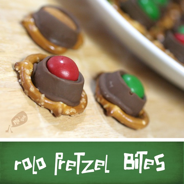Rolo Pretzel Bites