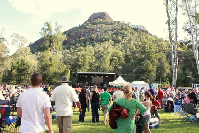 Crooked Mountain Concert, Warrumbungle National Park 2011