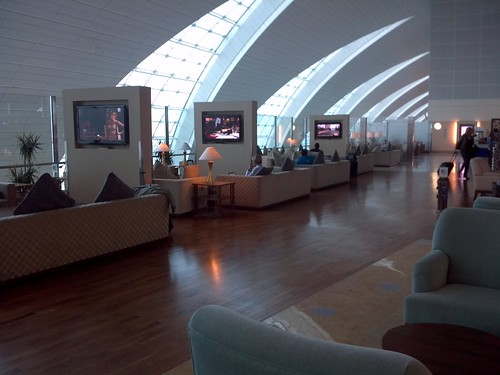 First Class Lounge Seating Area
