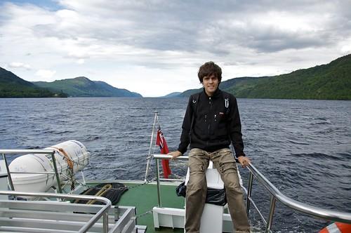Sailing on Loch Ness