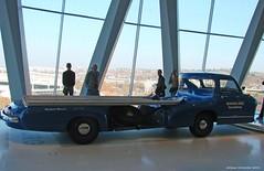 Mercedes-Benz Museum - Renntransporter für den Mercedes Benz 300 SLR Rennsportwagen 1955
