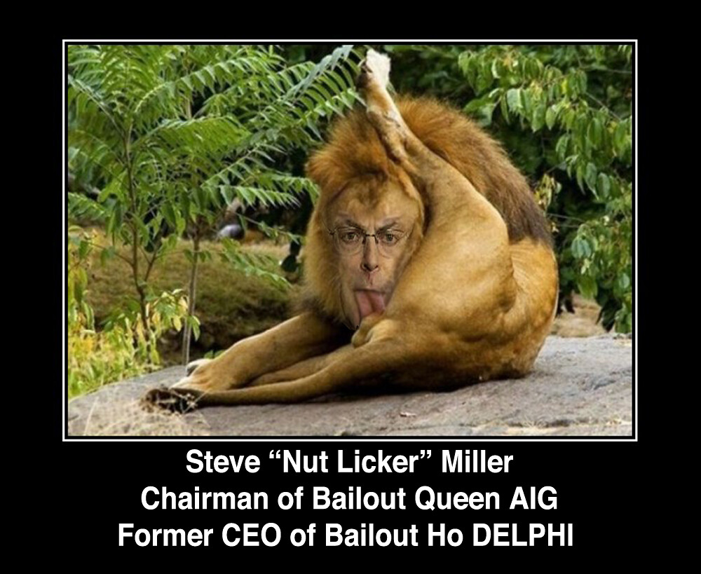 "MEET STEVE ""NUT LICKER"" MILLER"