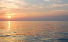 sliding over the ocean (marin.tomic) Tags: ocean travel sunset sea sun reflection water asian island boat nikon asia southeastasia waves speedboat horizon silk surface calm malaysia tropical tropics perhentian malay terengganu kotabahru d40