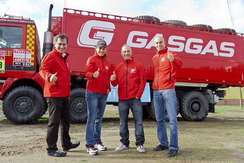 Equipo Gas Gas Dakar 2012