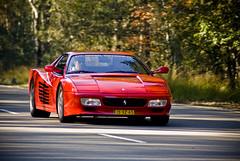 Ferrari 512tr (mdh-photography) Tags: fall photo ride herfst ferrari panning amersfoort 512tr 2011